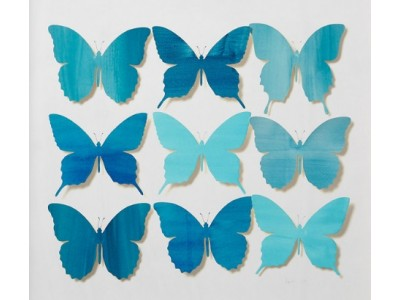 Butterflies cut out