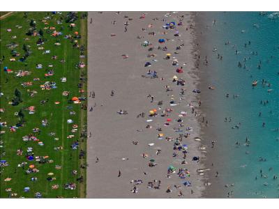 Aerial Beach II